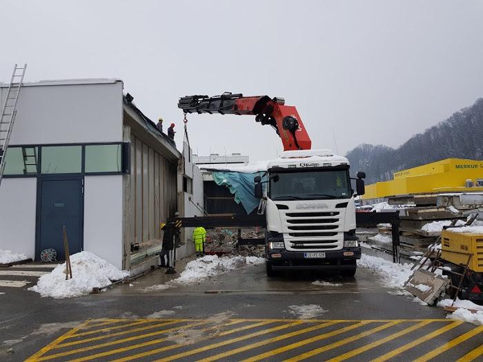 Tovornjak Scania z dvigalom 40 ton Palfinger PK150002